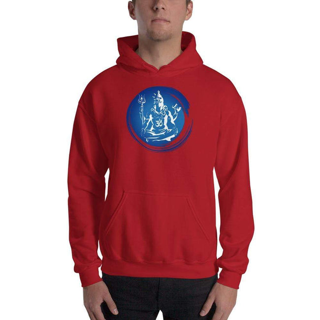 Red / S Bengali Unisex Heavy Blend Hooded Sweatshirt - Om