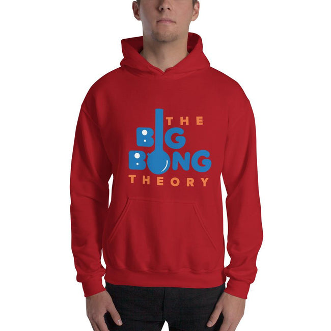 Red / S Bengali Unisex Heavy Blend Hooded Sweatshirt - The Big Bong Theory