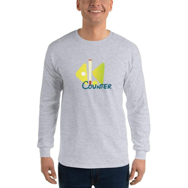 Sport Grey / S Bengali Ultra Cotton Long Sleeve T-Shirt - Bar Counter