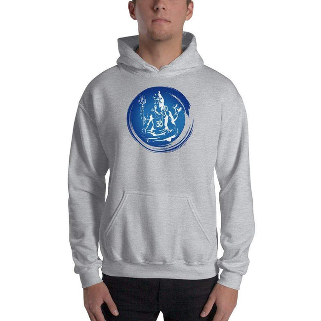 Sport Grey / S Bengali Unisex Heavy Blend Hooded Sweatshirt - Om