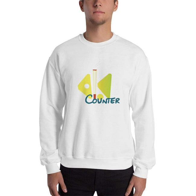 White / S Bengali Unisex Heavy Blend Crewneck Sweatshirt - Bar Counter
