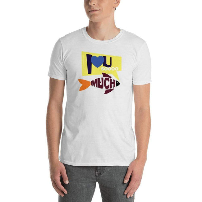 White / S Bengali Unisex Softstyle T-Shirt - I love you so much