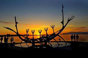 Solfarid (the Sun Voyager) in Reykjavik, Iceland. – Thinking critically