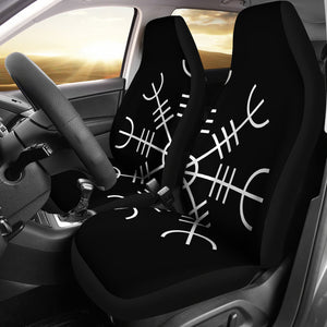 Aegishjalmur (Helm of Awe) Car Seat Covers