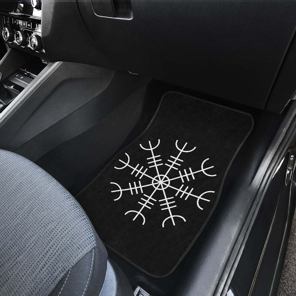Aegishjalmur (Helm of Awe) Car Mats - 4pc