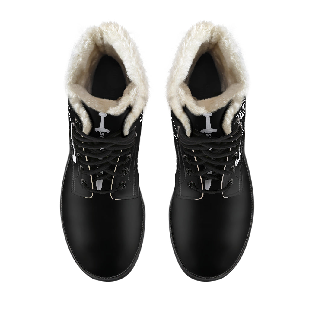 Hati and Skoll Faux Fur Vegan friendly Leather Boots