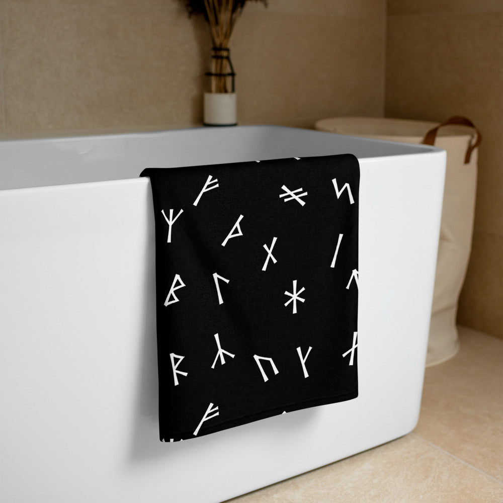 Younger Futhark Runic Towel
