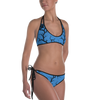 Blue Huginn and Muninn Bikini - up to size 20-22 (3XL)