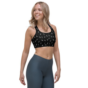 Younger Futhark Runic Sports bra