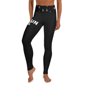 Norsewoman Yoga Leggings - Black
