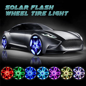 Solar Flash Wheel Tire Light