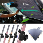Auto Retractable Sun Shade
