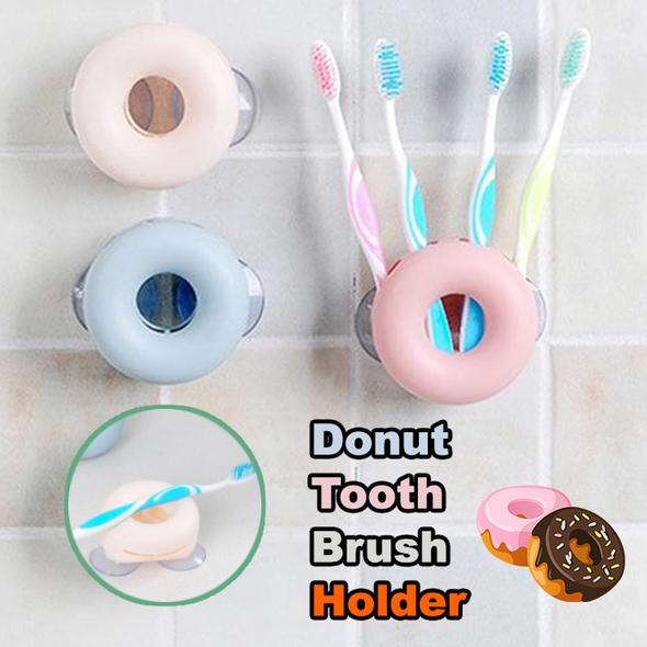 Donut Toothbrush Holder