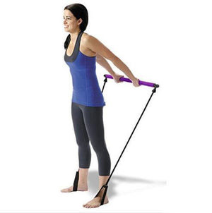 Pilates Bar Kit with Resistance Band