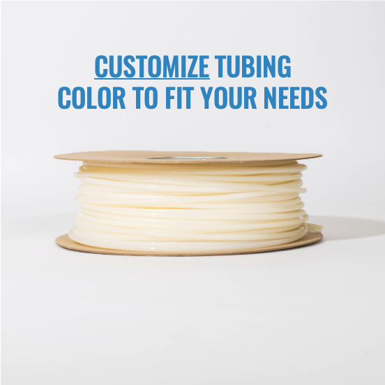 "1/4"" Customized Colored Tubing (1 Roll, 500')"