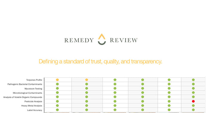 Introducing the Remedy Review Seal. Defining a standard of trust, quality, and transparency.