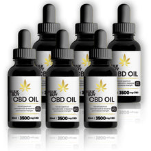 3500mg CBD Infused Organic MCT Oil | Commercial Strength
