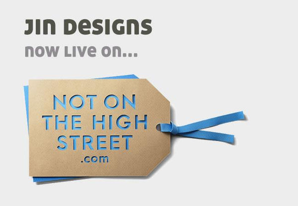 Jin Designs Becomes notonthehighstreet.com Partner
