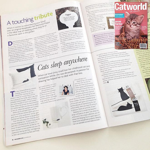 Catworld Features Sleeping Cat Story
