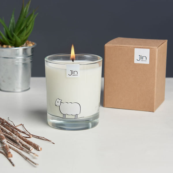 Sheep Candle