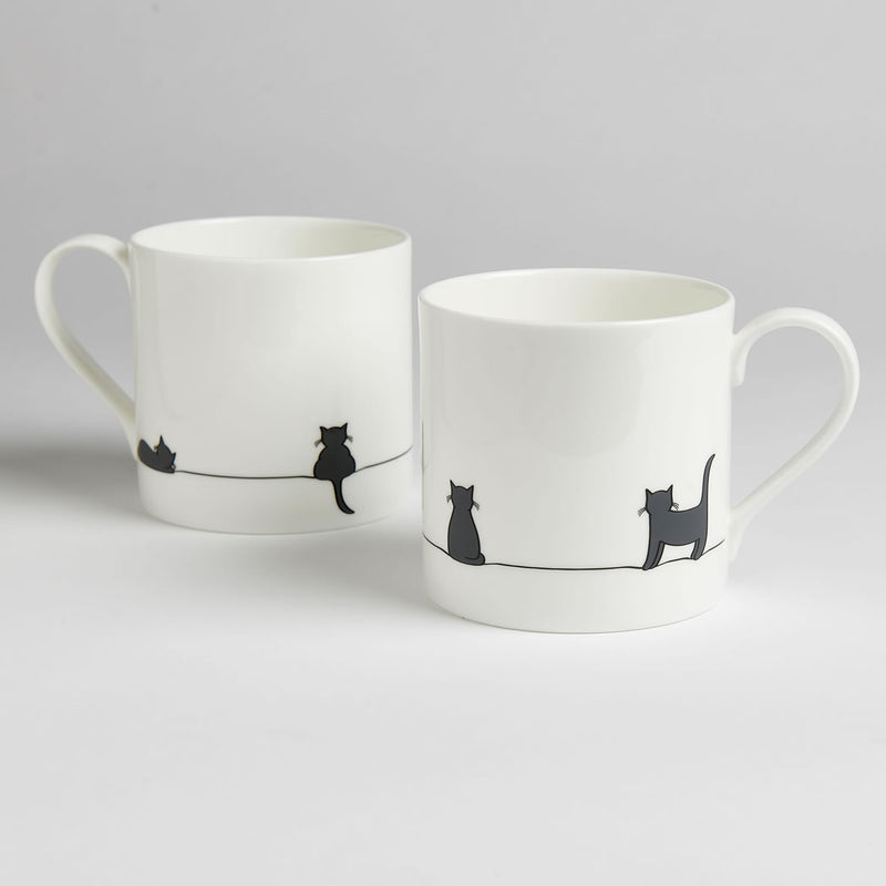 Cat Collection Tea for Two Gift Set