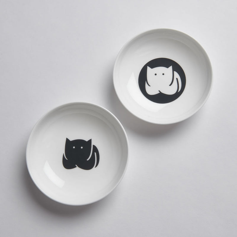CatLoaf Nibble Dishes, Set of Two