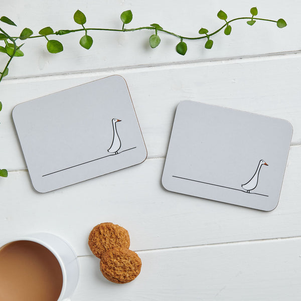 Duck Coasters, Set of Two