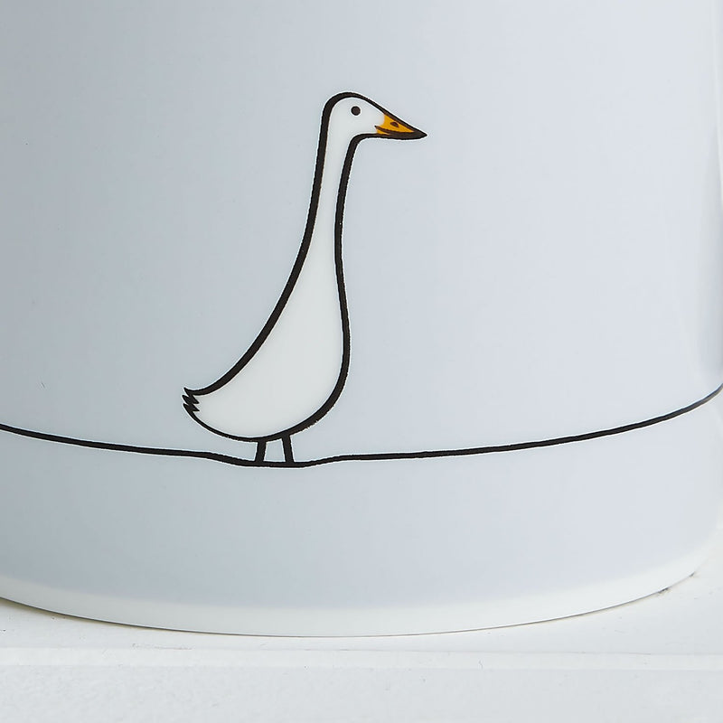 Duck Mug Close-up