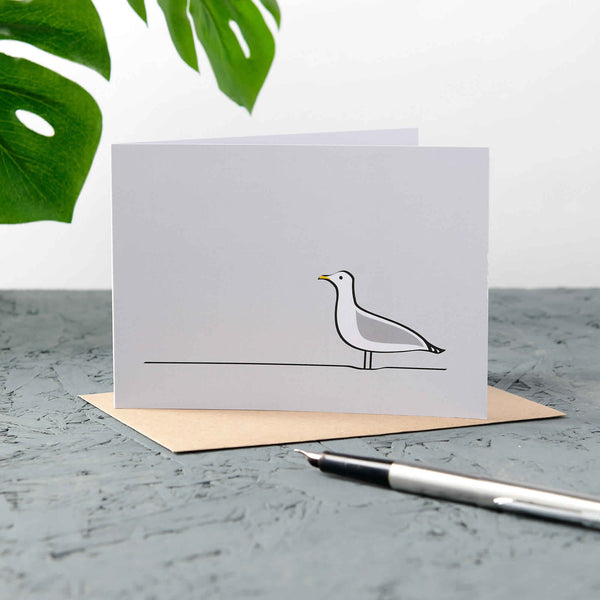Seagull Cards, Pack of Four