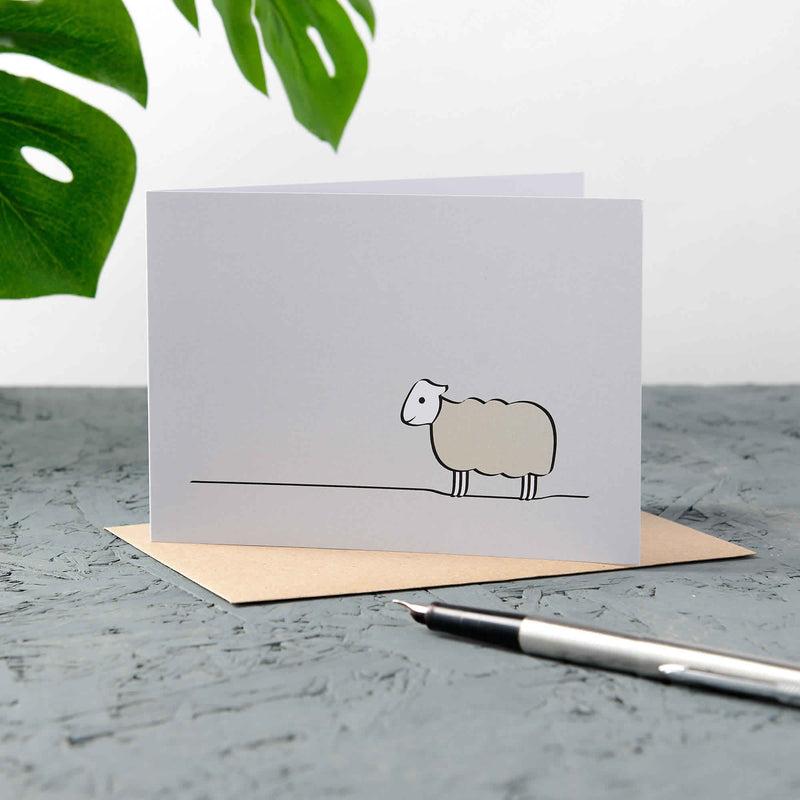 Sheep Cards, Pack of Four