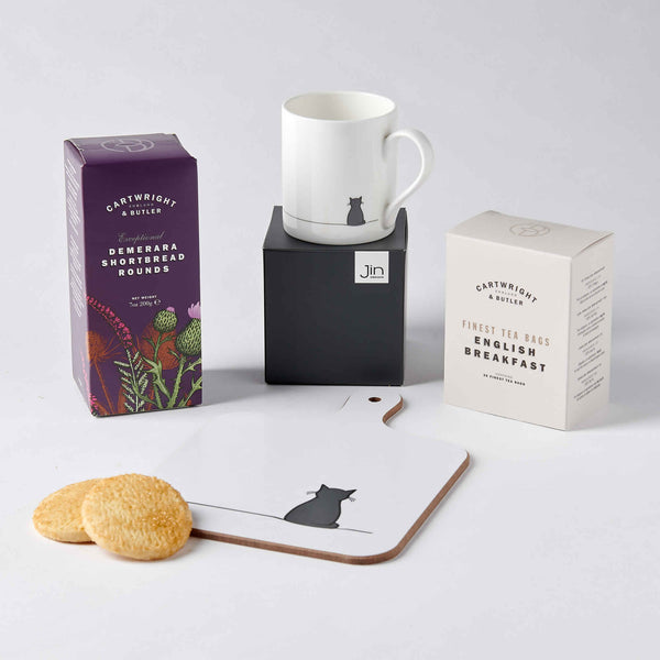 Cat Lover Tea Time Gift Set