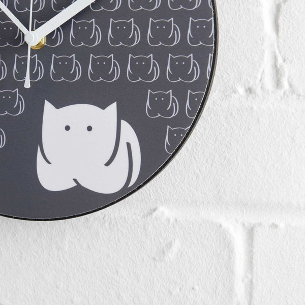 CatLoaf Wall Clock