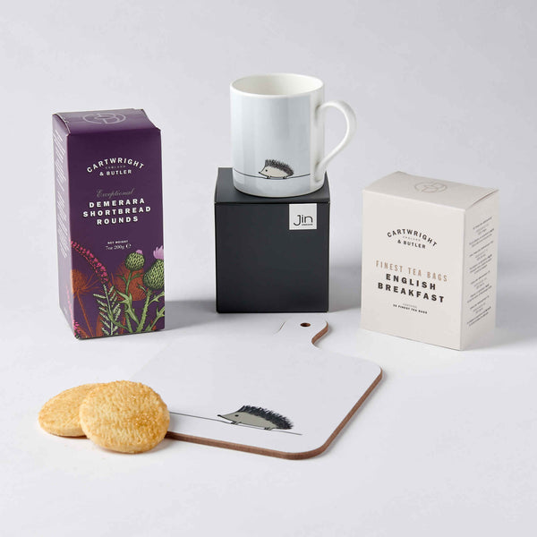 Hedgehog Lover Tea Time Gift Set
