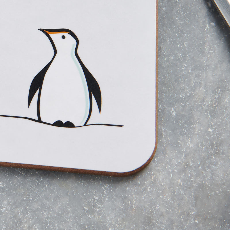 Penguin Mini Chopping Board Close Up