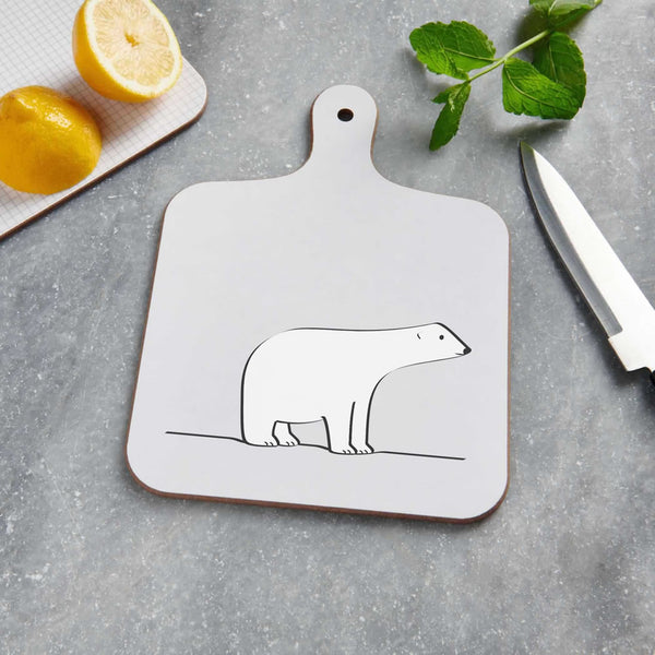 Polar Bear Mini Chopping Board