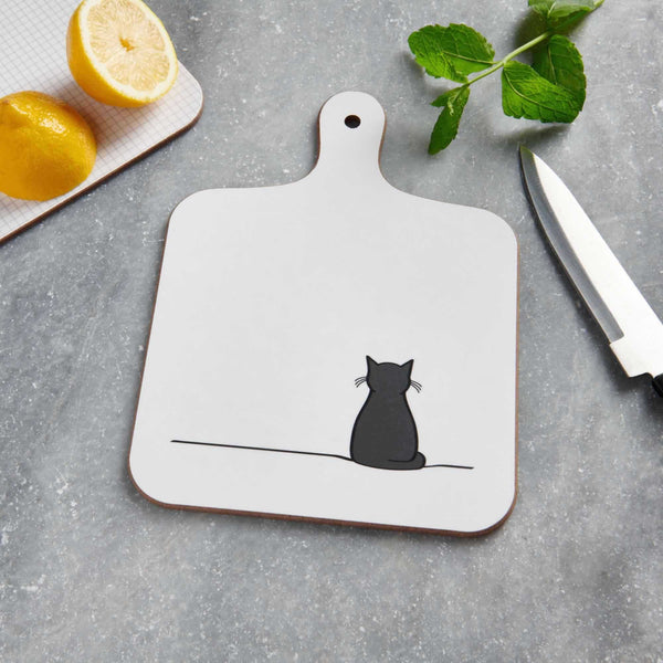 Sitting Cat Mini Chopping Board