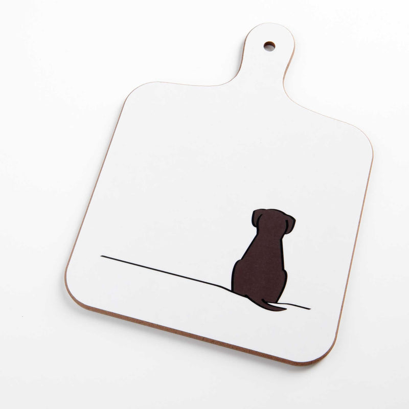 Sitting Dog Mini Chopping Board