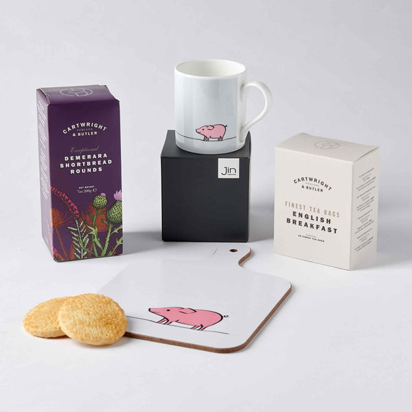 Pig Lover Tea Time Gift Set