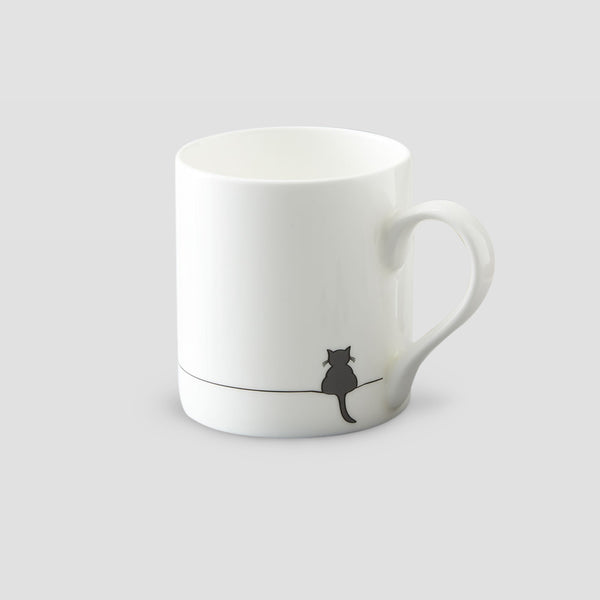 Seconds - Crouching Cat Mug