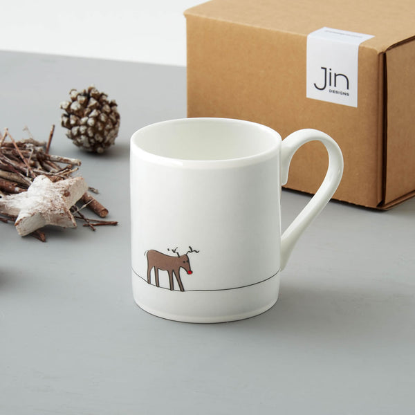 SECONDS Reindeer Mug