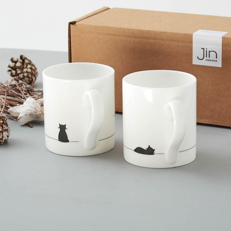Boxed Cat Mugs