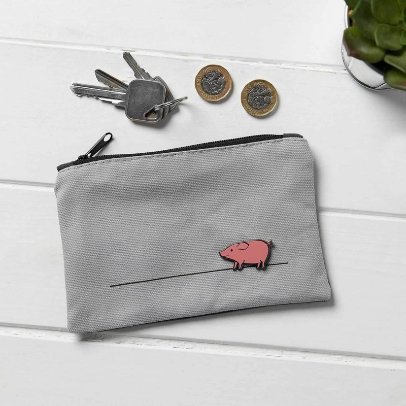 Pig Purse, Gift for Pig Lover