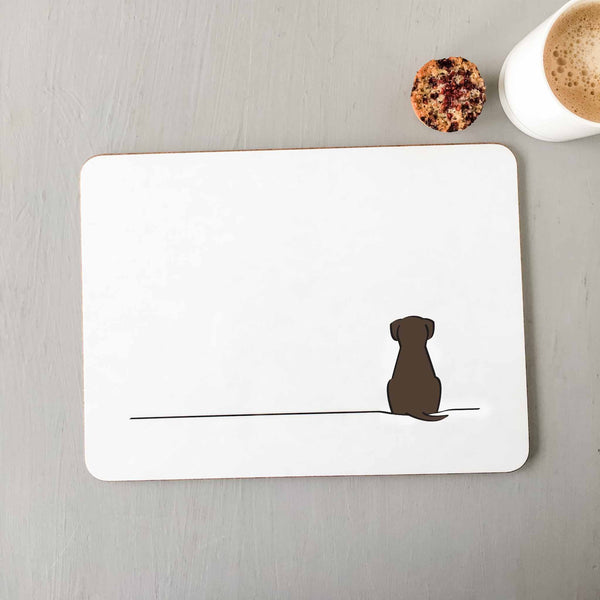 Sitting Dog Placemat