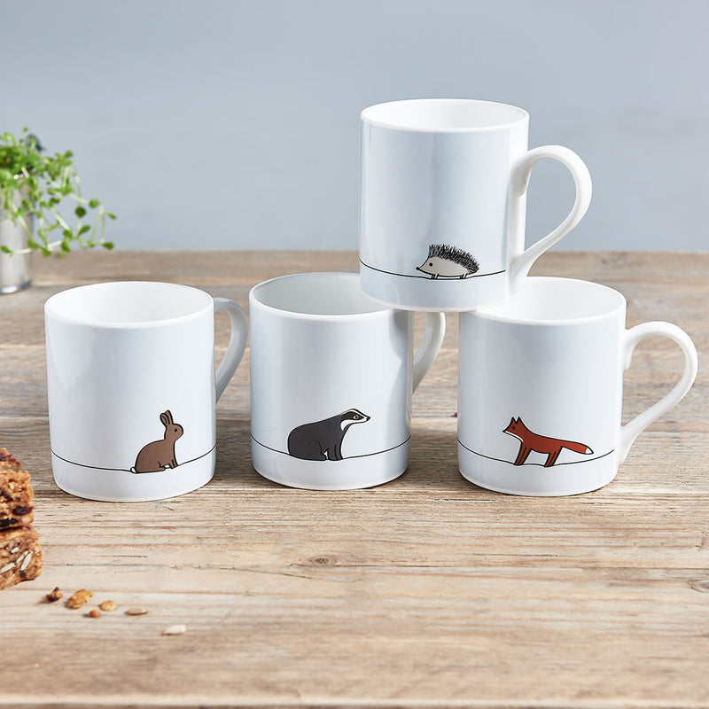 Woodland Mugs with Fox Mug