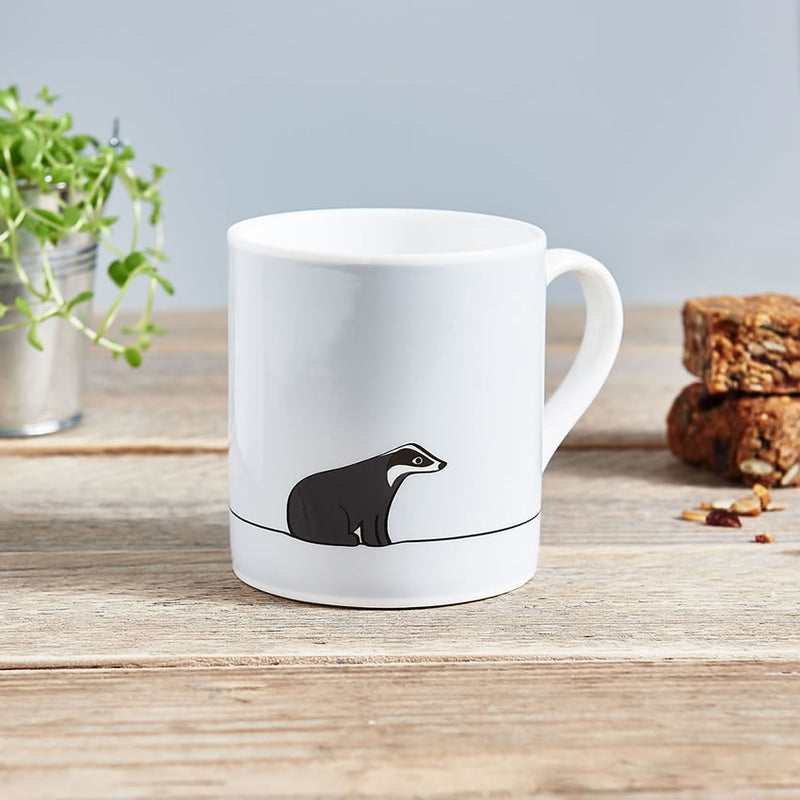 Badger Mug, Fine Bone China