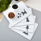 Cat Placemats, Set of Four