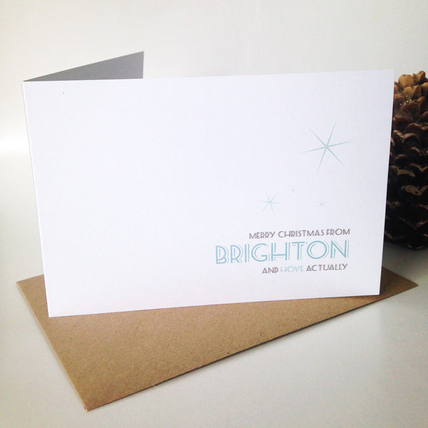 Brighton & Hove Christmas Card