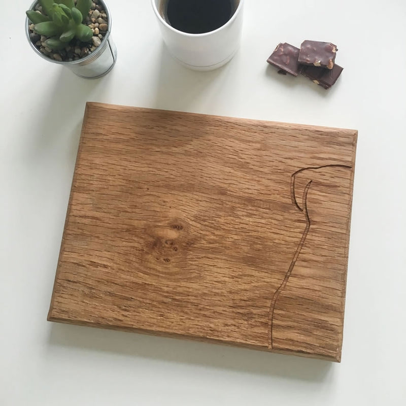 Sitting Dog Chopping Board