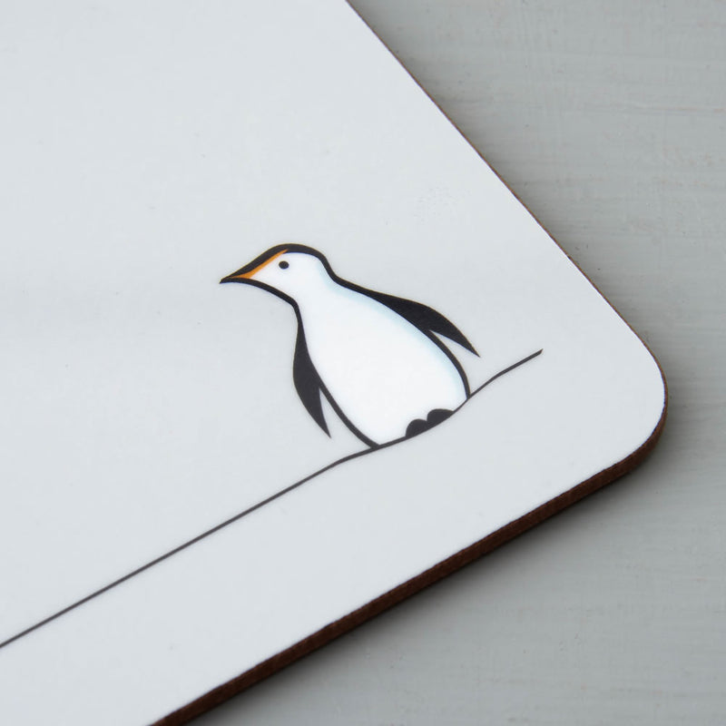 Penguin Coaster, Closeup