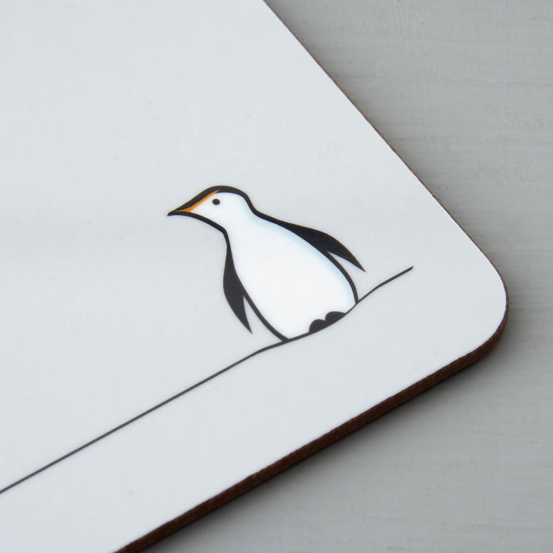 Penguin Placemat Close Up